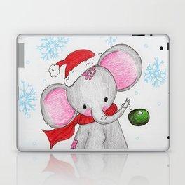 Christmas elephant Laptop & iPad Skin