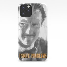 Winston Wolf in Pulp Fiction iPhone Case