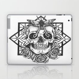 Skull and Roses Laptop & iPad Skin