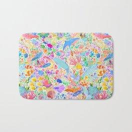 A Narwhal of a Time Bath Mat