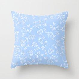 Gisophila pastel sky Throw Pillow