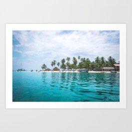 San Blas, Panama. Art Print