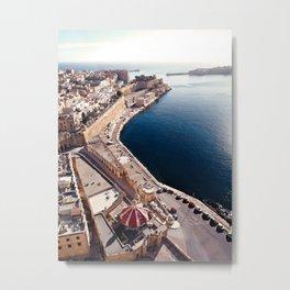 Valletta City, Malta  Metal Print