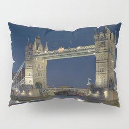 Tower Bridge night Pillow Sham