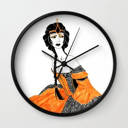 Queen Loh Wall Clock