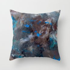 Abstract Geometric 6 Throw Pillow
