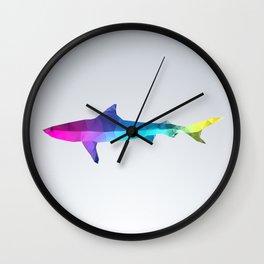 Glass Animal Series - Shark Wall Clock