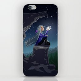 Girl who Stole a Star iPhone Skin