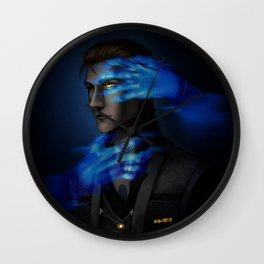 """""""I'll be waiting for my chance to take you out"""" Wall Clock"""