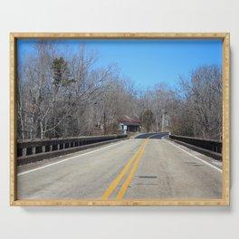 Bridge Over Henry River Serving Tray