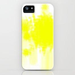 I feel yellow iPhone Case