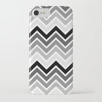 plain iPhone & iPod Cases featuring ZigZag - Plain by Emelie Turander