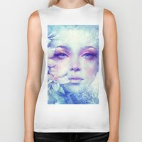 friday Biker Tanks featuring December by Anna Dittmann