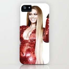 Bey at The Grammy's 2017 iPhone Case
