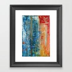Beauty In Chaos Framed Art Print
