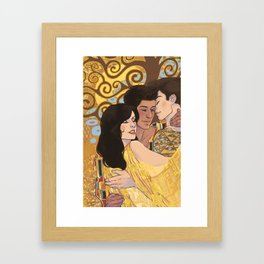 Love Unafraid Framed Art Print