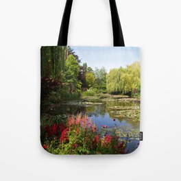 Jardin d'Eau Tote Bag