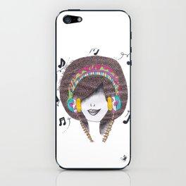 365 cabelos - Dance iPhone Skin