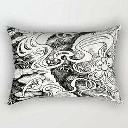 Epiphycadia III: Bracket Fungi Rectangular Pillow