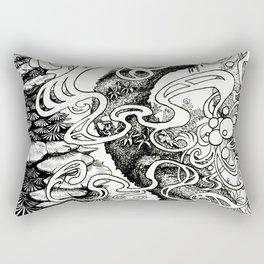 Epiphycadia III: Bracket Fungi Rectangular Pillow