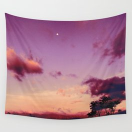 Costa Rican pink sky Wall Tapestry