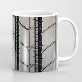 Tread pattern truck tire Coffee Mug