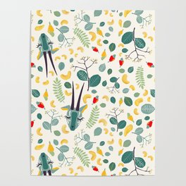 Cashew Nuts Pattern (Version 1) Poster