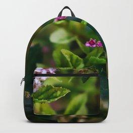 Lovely Garden In The Springtime Backpack
