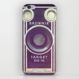 Vintage Camera Love: Cross-Processed Kodak Brownie Target Six-16! iPhone Skin