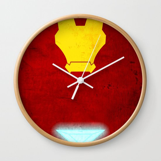 Iron Man: Avengers Movie Variant Wall Clock