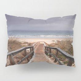 """To the beach...."". Wonderful sunrise Pillow Sham"