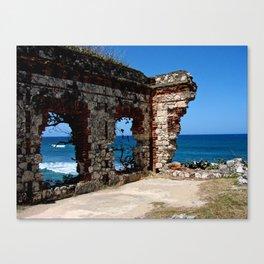 Aguadilla Ruins Canvas Print