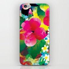 Hawaiian jungle iPhone & iPod Skin
