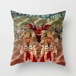 Spectator's Delight Throw Pillow