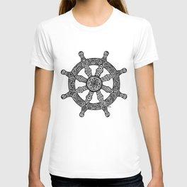 Zentangle - Dharma Wheel  T-shirt