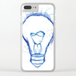 Water splash Bulb Clear iPhone Case