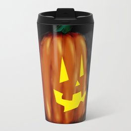 Smiling Pumpkin Travel Mug