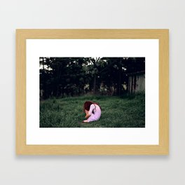 Claustrophobia. Framed Art Print