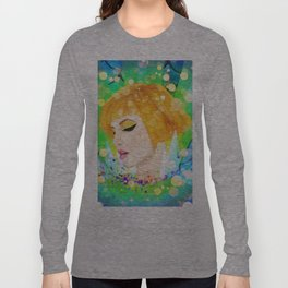 Digital Painting - Hayley Williams Long Sleeve T-shirt