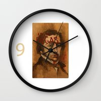 degas Wall Clocks featuring 50 Artists: Edgar Degas by Chad Beroth