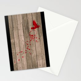 And the birds shall feast... Stationery Cards