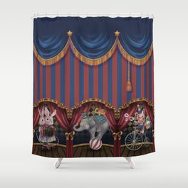 Mysterious Circus Tour Shower Curtain