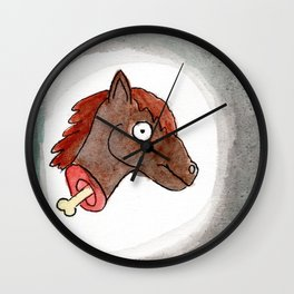 Lisa's Pony Wall Clock