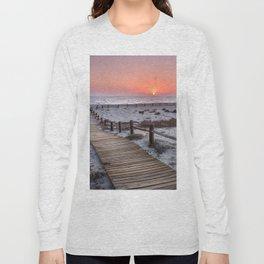 """""""To the beach...""""Cabo de Gata"""". Long Sleeve T-shirt"""