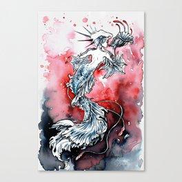 Mermaid Riot Canvas Print
