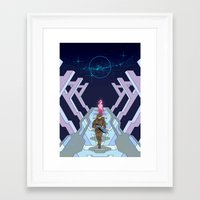 halo Framed Art Prints featuring Halo by Joe Byrne