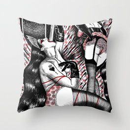 Naples Saudade Throw Pillow