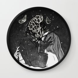 A land of love. Wall Clock