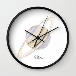 Saturn planet Wall Clock
