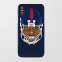 giants iPhone & iPod Cases featuring Faces-Giants by IllSports